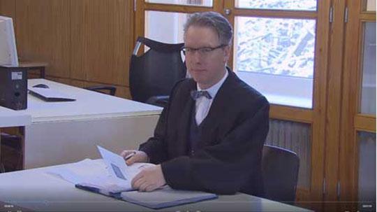 Rechtsanwalt Thomas Feil bei SAT 1 Phishing Prozess