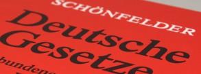 Schönfelder Deutsche Gesetze