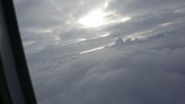 Himmel aus Flugzeug 1