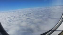 Himmel aus Flugzeug 2
