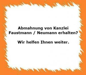 Faustmann Neumann Abmahnung