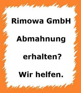 abmahnung der rimowa gmbh