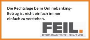 onlinebanking rechtslage